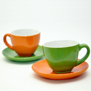 Two tea cups