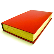 Red text book