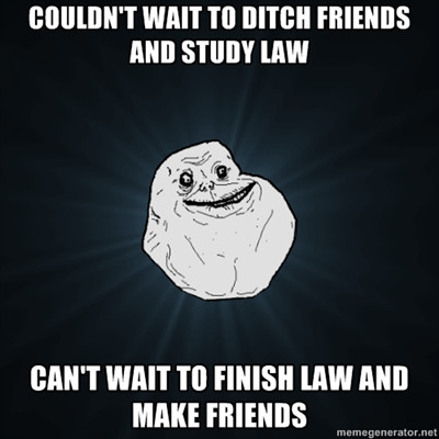 law meme with a rock