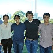 Alice Zhou, Thomas Farmakis, William Hanna and Proteek Chowdhury
