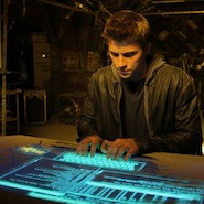 Tron Movie computer