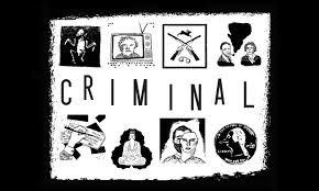 Criminal podcast poster