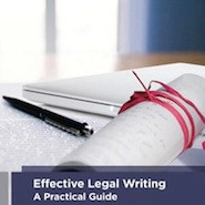 Effective Legal Writing cover