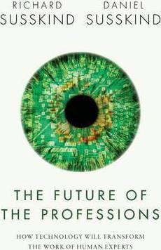 The Future of The Professions book cover