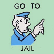 Go to Jail Monopoly image