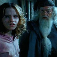 Hermione and Dumbledore