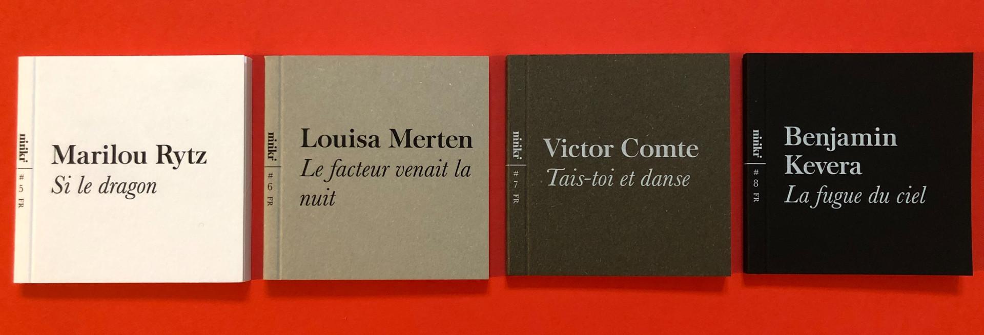 4 livres en français, édition 2020, 29 CHF (frais de port inclus)