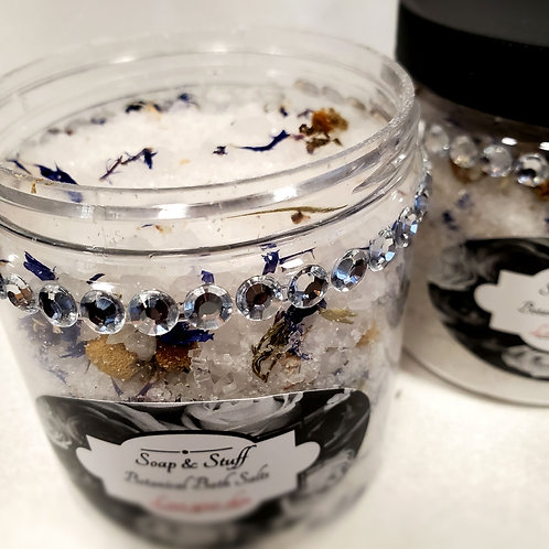 Botanical Bath Salt- Bergamot and Sage