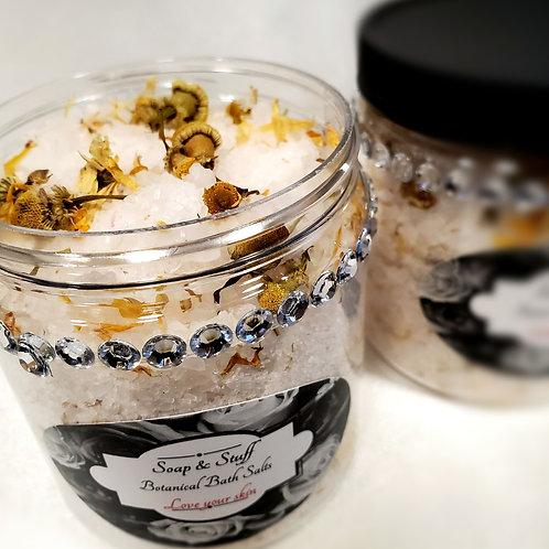 Botanical Bath Salt- White Tea and Juniper