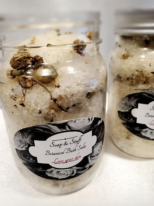 Botanical Bath Salt- Frankensen and Sandalwood