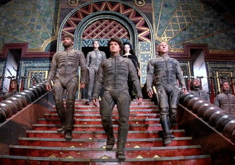 A scene from the movie, Dune.