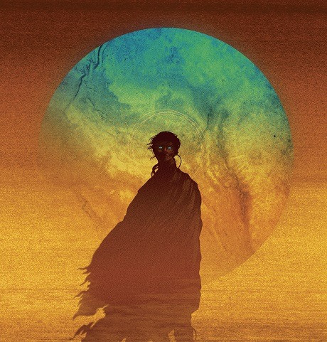 Cover art by Matt Griffin for the new Ace edition of Dune.