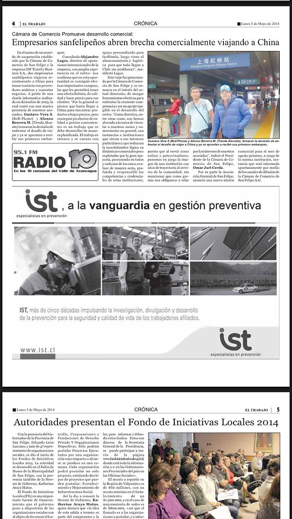 Las Últimas Noticias - Chile.