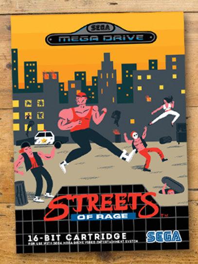 Streets of Rage Print