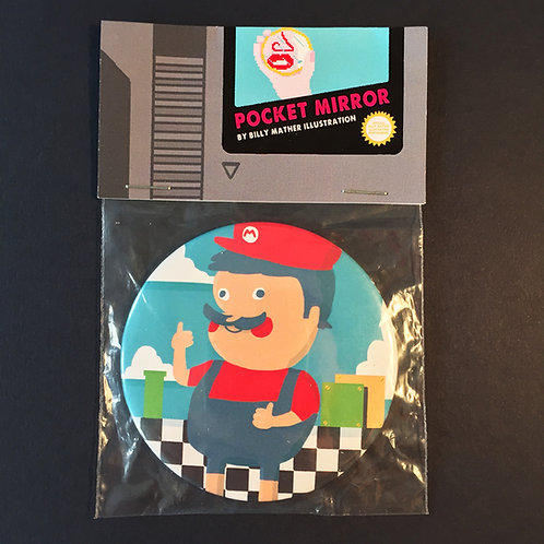 Mario Pocket Mirror