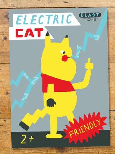 Electric Cat print
