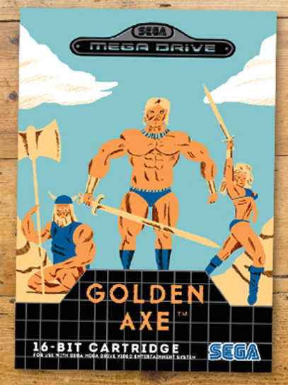 Golden Axe Print
