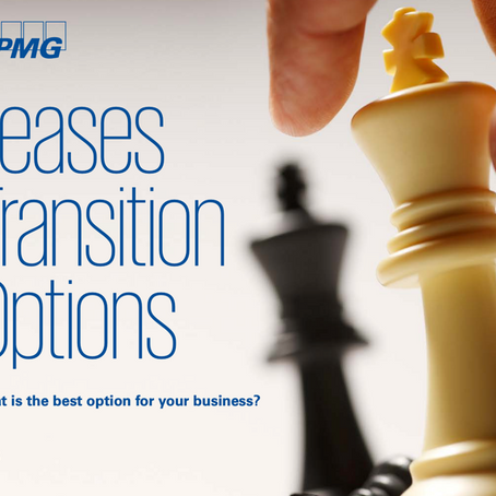KPMG: IFRS 16 Leases Transition Options
