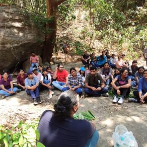 Off-campus training camp for the St. Joseph's College Devagiri Faculty