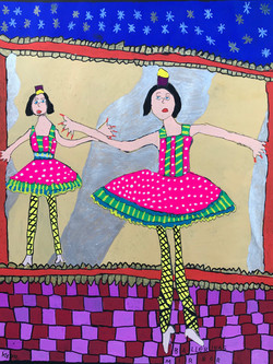 Ballerinas In The Mirror