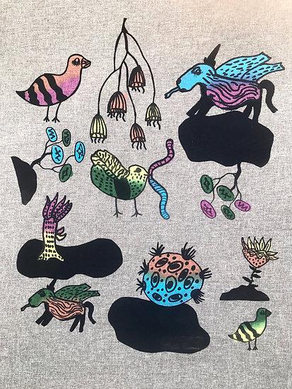 Majella Bailey fabric  Dreamland