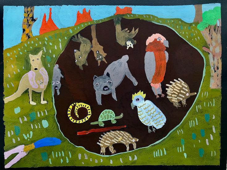 Majella Bailey Wombat Hole