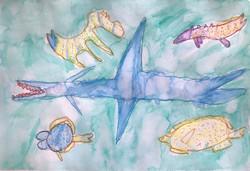 Shark With Fish