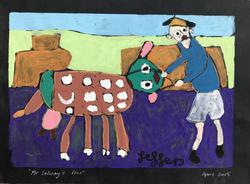 Mr Salway's Cow