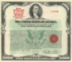 1978 $5,000 Treasury Bond