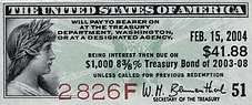 1978 $1000 Treasury Bond (coupon) _edite