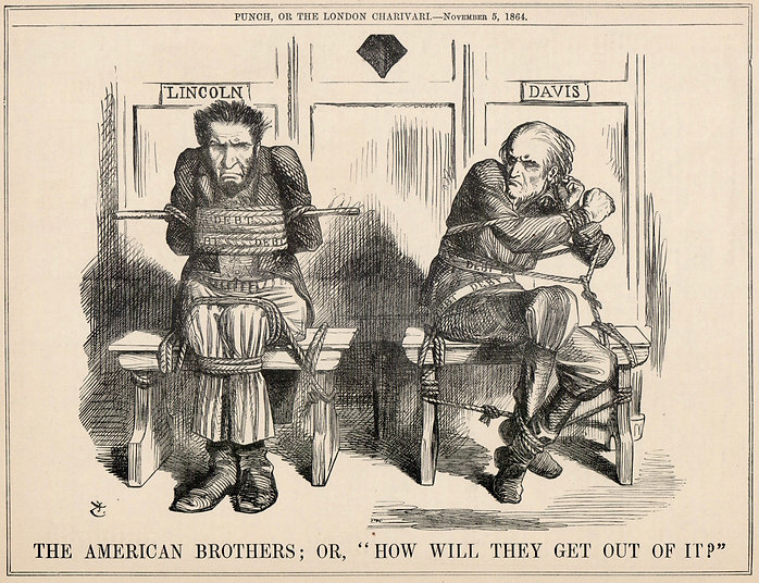 Nov 5, 1864 Punch Editorial Cartoon