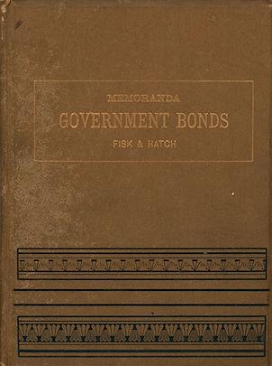 1861 Memoranda Concerning Govt Bonds (fr
