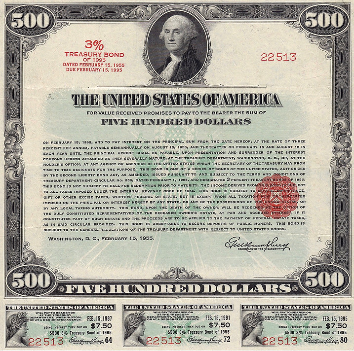 1955 $500 3% Treasury Bond (front).jpeg
