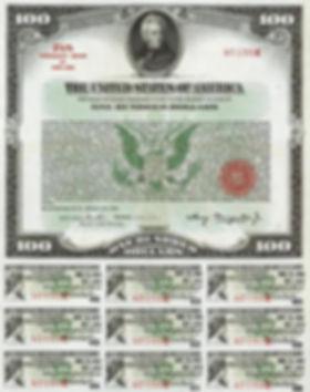 1935 $100 Treasury Bond