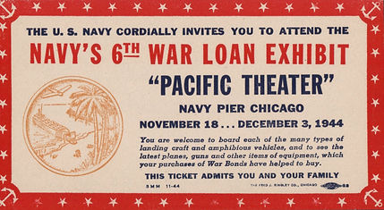1944 6th War Loan Event Ticket copy.jpg