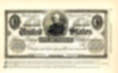 1861 Harper's Monthly Note Illustration.