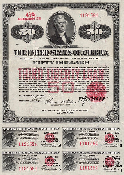 1918 $50 Third Liberty Loan