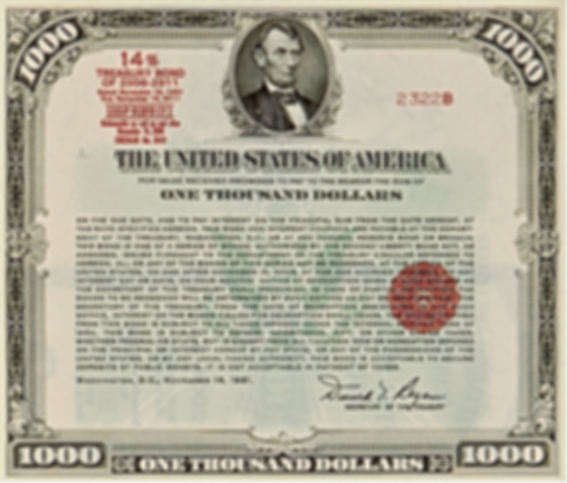 1981 $1000 14% Treasury Bond
