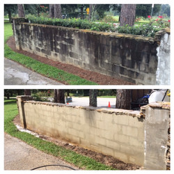 Wall Pressure Cleaning