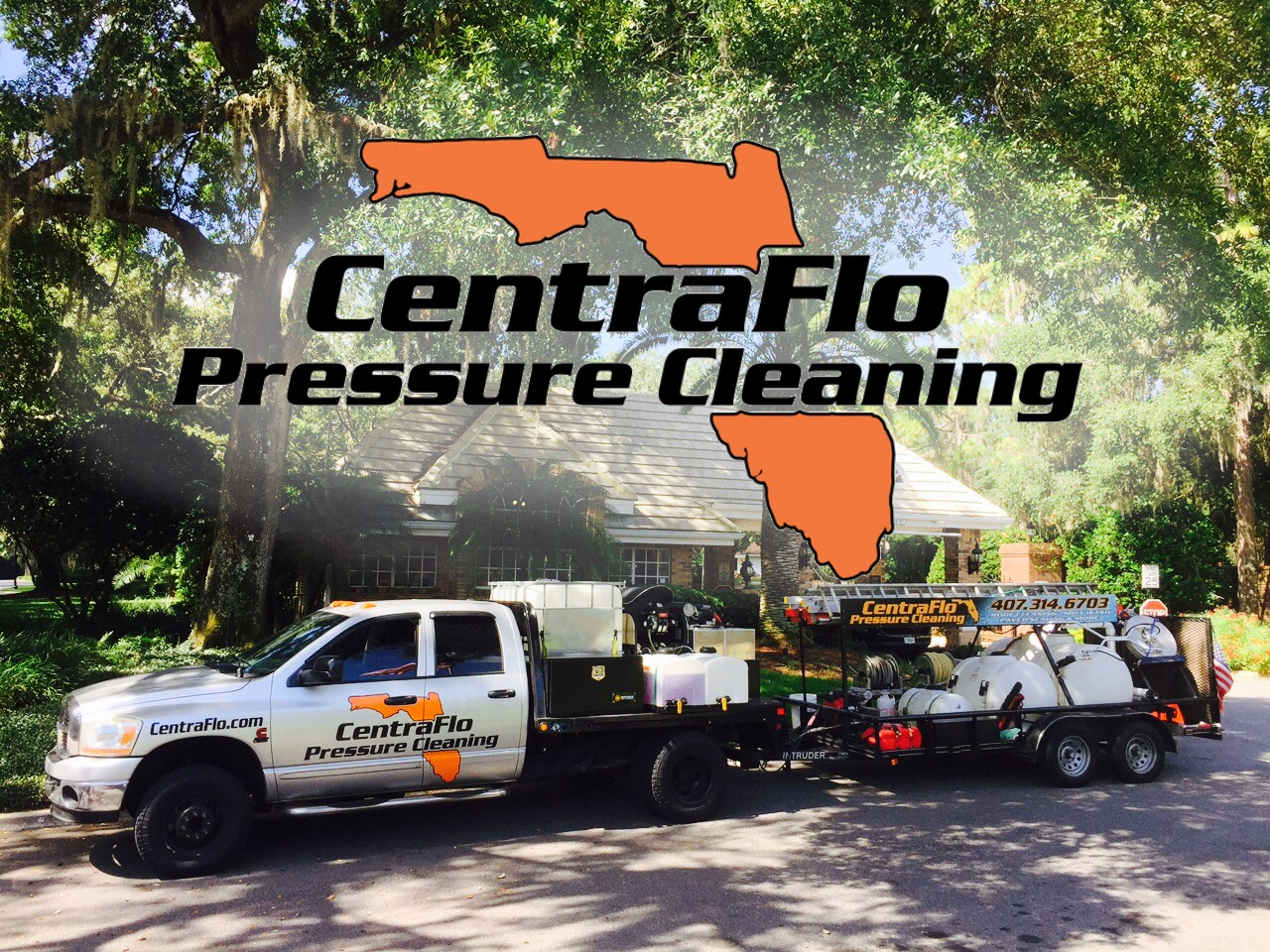 Pressure Washing in Winter Springs