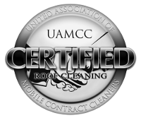 Now CERTIFIED in Roof Cleaning!