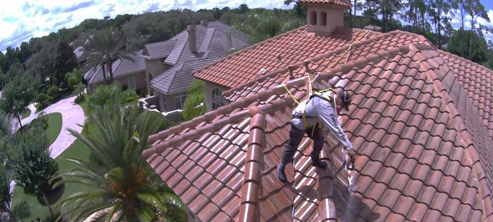 SAFE Roof Cleaning