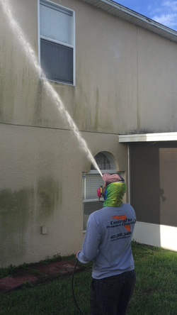 Soft Wash House Pressure Cleaning