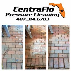 Rust Removal on bricks