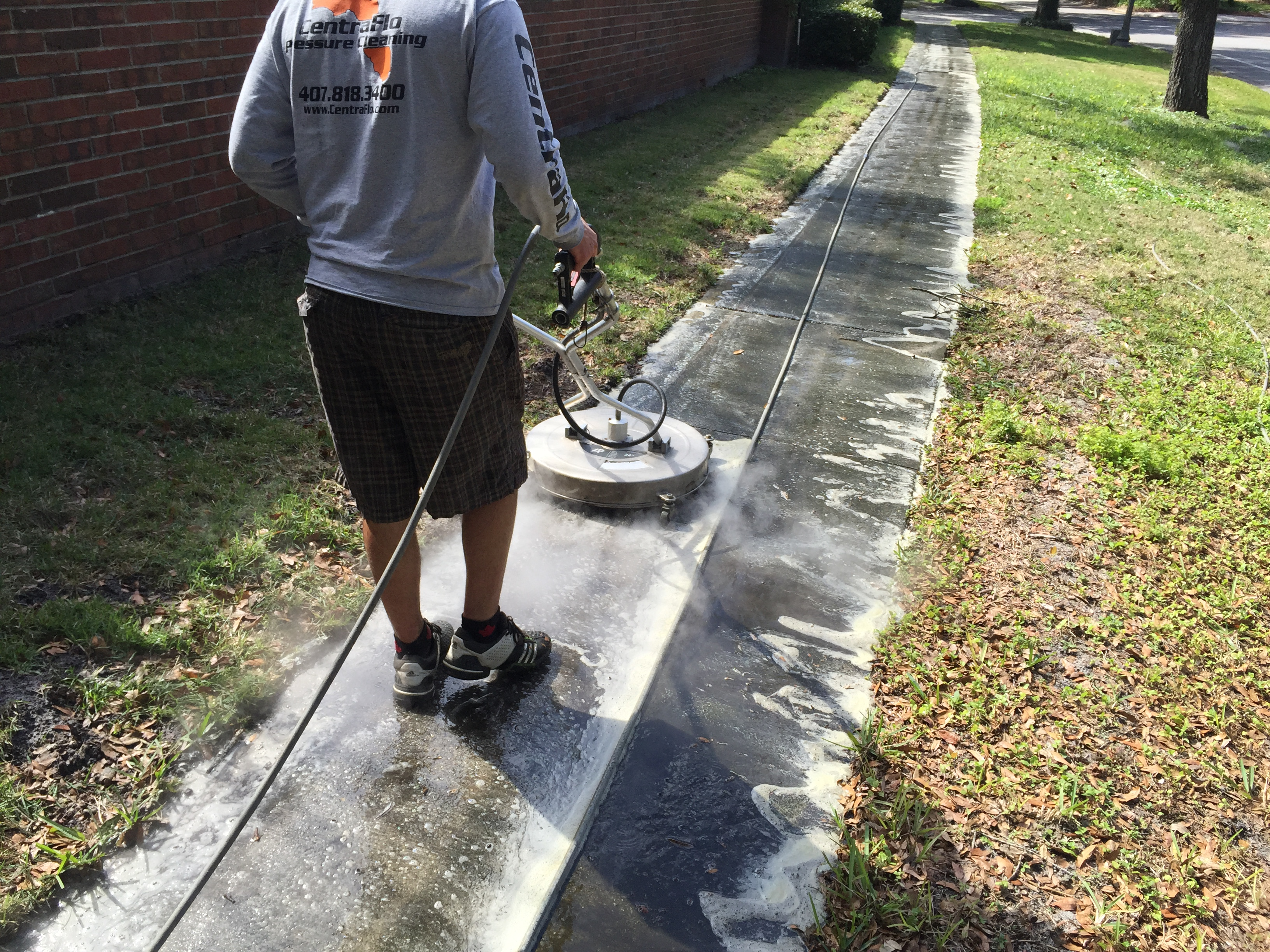 Sidewalk Cleaning