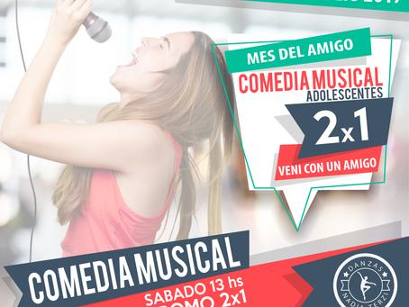 Promo Amigos 2x1 COMEDIA MUSICAL Adolescentes