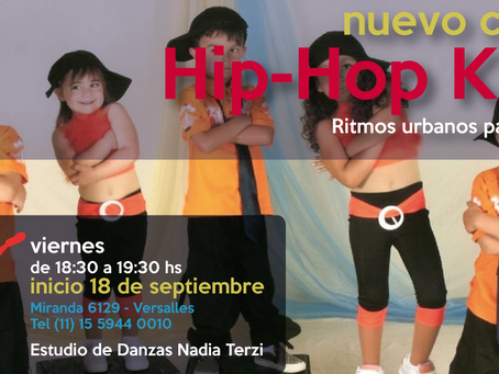 Clase Abierta de Hip-Hop Kids - Viernes 18 de septiembre