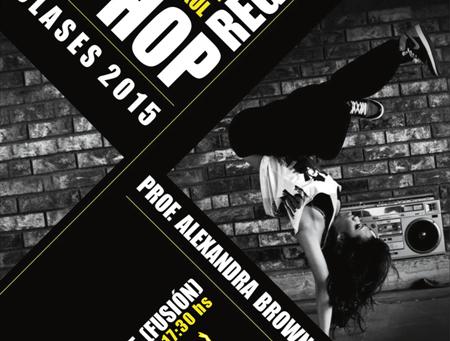 Clase Abierta de Hip-Hop / Reggaeton - Viernes 7 de Agosto