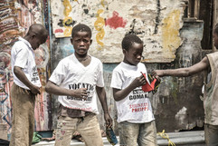 they call them street kids we call them lil angels
