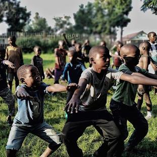 ndoto kids dancers goma